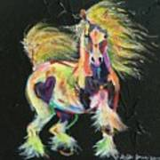 Gypsy Gold Pony Art Print