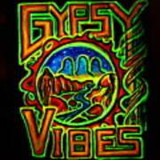 Gypsy Vibes  Art Print