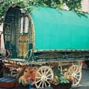 Gypsy Wagon Art Print