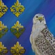 Gyr Falcon Art Print