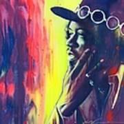 Gyspy Sun and Rainbows Art Print