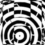 H Maze Art Print