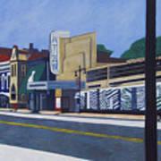 H Street Ne / Atlas District In Washington Dc Art Print