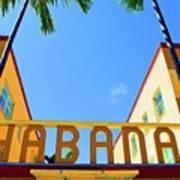 Habana Condos Art Print