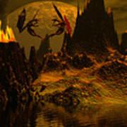 Habitation Of Dragons Art Print