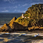 Haceta Head Light 2 Art Print
