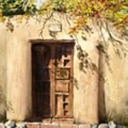 Hacienda Gate Art Print