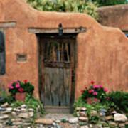 Hacienda Santa Fe Art Print