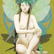 Hada Amarilla Art Print