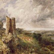 Hadleigh Castle Print by John Constable