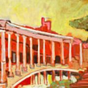 Hadrian's Villa Art Print