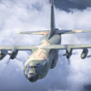 Haf C-130 Hercules Art Print