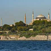 Hagia Sophia And Blue Mosque Art Print