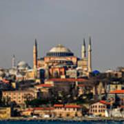 Hagia Sophia - Istanbul Turkey Art Print