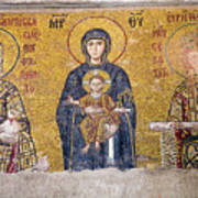 Hagia Sophia Mosaic Art Print