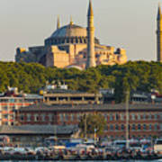 Hagia Sophia On The Bosphorus  Art Print