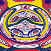 Haida Three Art Print