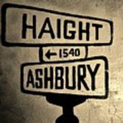 Haight Ashbury Art Print