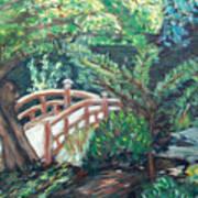 Hakone Garden Art Print