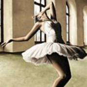 Halcyon Ballerina Art Print