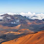 Haleakala Crater Art Print