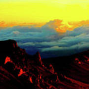 Halekala Sunrise Art Print