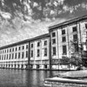 Hales Bar Dam B W Tennessee Valley Authority Tennessee River Art Art Print