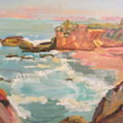 Half Moon Bay Art Print