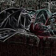 Halfabaskan Sleeping Art Print