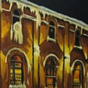 Halifax Ale House In Ice Art Print
