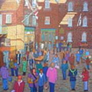 Halifax Farm Market Art Print