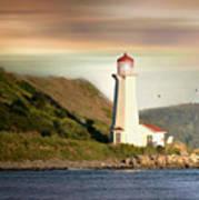 Halifax Harbor Lighthouse Art Print