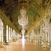 Hall Of Mirrors  The Galerie Des Glaces Art Print