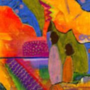Hallelujah Praise Print by Angela L Walker