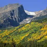 310221-hallett Peak In Autumn  Art Print