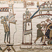Halleys Comet Of 1066, Bayeux Tapestry Art Print