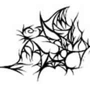 Hallow Web Art Print