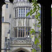 Hallowed Halls In Oxford Art Print