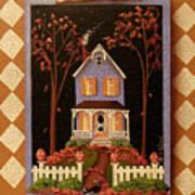 Halloween Hill Art Print