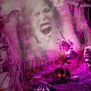 Halloween Landscape Art Print