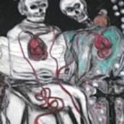 Halloween Love Art Print