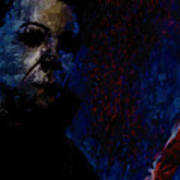 Halloween Michael Myers Signed Prints Available At Laartwork.com Coupon Code Kodak Art Print