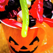 Halloween Party Details Art Print