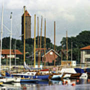 Halsingborg Marina 2 Art Print