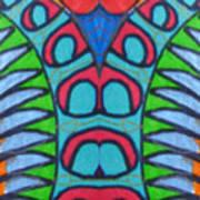 Hamden Scales Art Print
