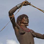 Hamer Tribe Woman, Ethiopia  Art Print