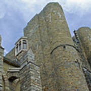 Hammond Castle Detail - Gloucester Ma Art Print