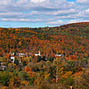 Hammondsport Panorama Art Print