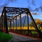 Hanalei Bridge Art Print