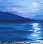 Hanalei Moon Art Print